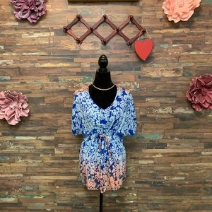 CAbi | Ombré Tie Waist Kimono Tunic | M